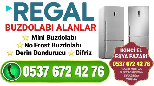 Regal Buzdolabı Alanlar