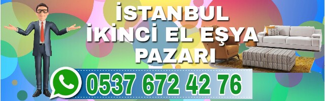 İstanbul İkinci El Eşya Pazarı 1
