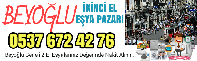 Spot Eşya Alanlar Beyoğlu