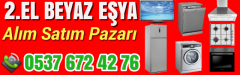 2.EL Beyaz Eşya Alanlar İstanbul