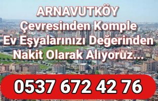 Arnavutköy İkinci El Eşya Alımı