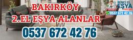 Bakırköy 2.El Eşya Alanlar