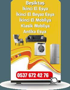 Beşiktaş İkinci El Mobilya Alan Yerler