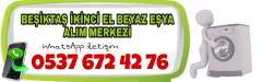 Beşiktaş İkinci El Beyaz Eşya Alanlar