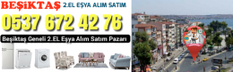 Beşiktaş Beyaz Eşya Alanlar