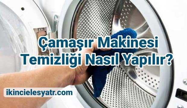 Çamaşır Makinesi Temizliği Nasıl Yapılır? 3