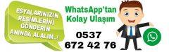 İkinci El Eşya'da Whatsapp Kolaylığı