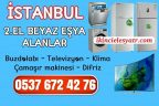 İstanbul İkinci El Beyaz Eşya Alanlar