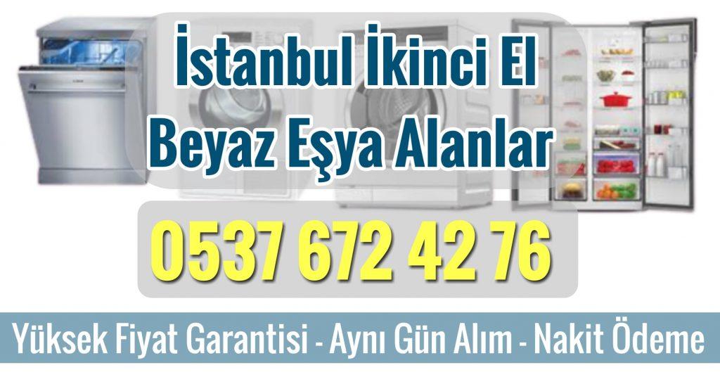 İstanbul İkinci El Beyaz Eşya Alan Yerler