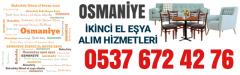 Osmaniye İkinci El Eşya Alanlar